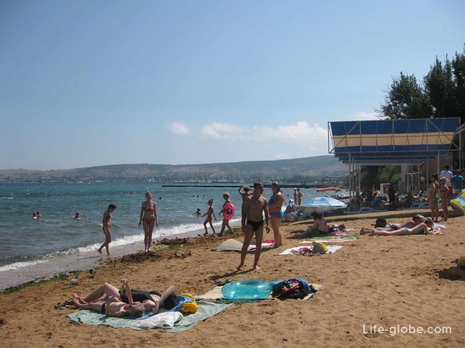 Золотые пляжи, Феодосия
