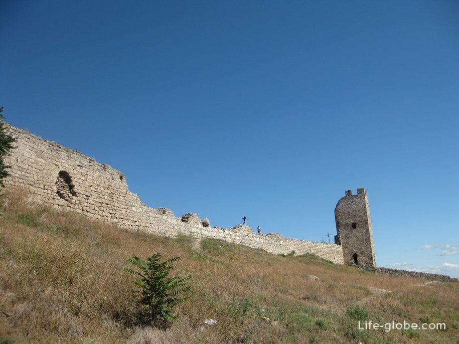 Генуэзская крепость Кафа в Феодосии, Крым