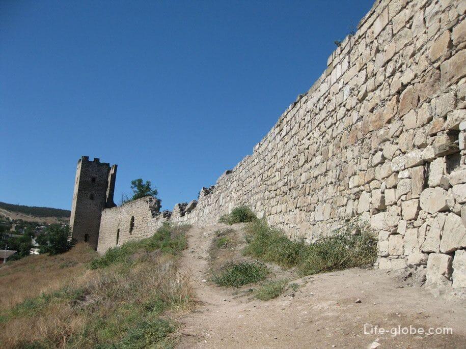 Генуэзская крепость, Феодосия