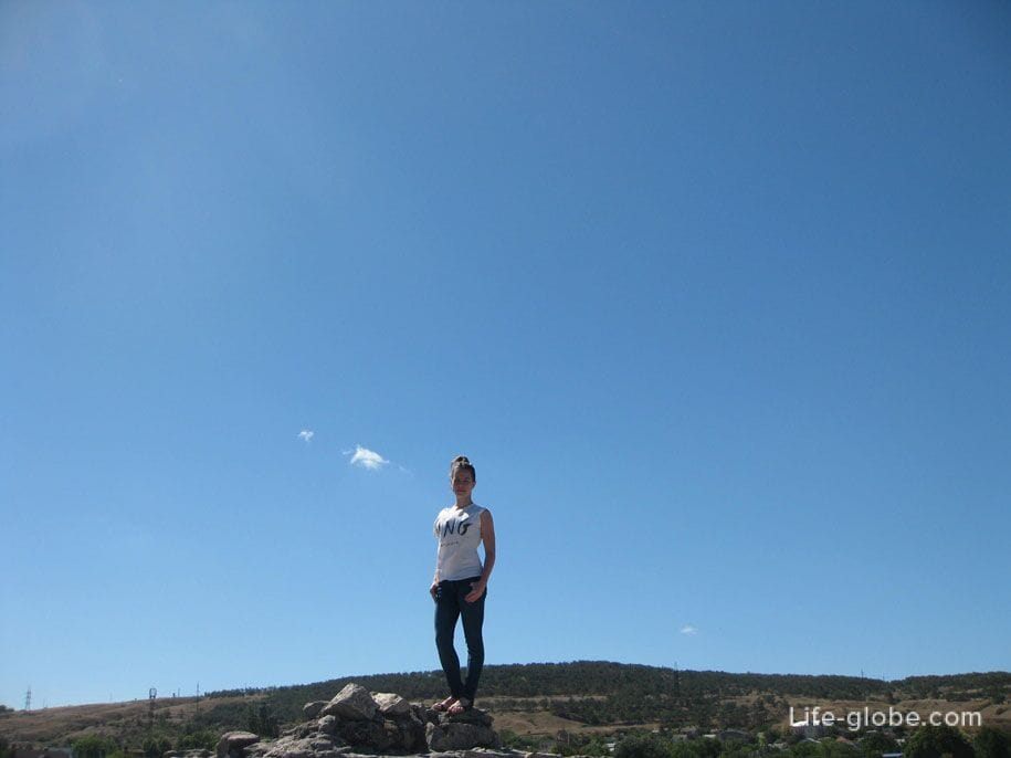Фото на память, Генуэзская крепость в Феодосии