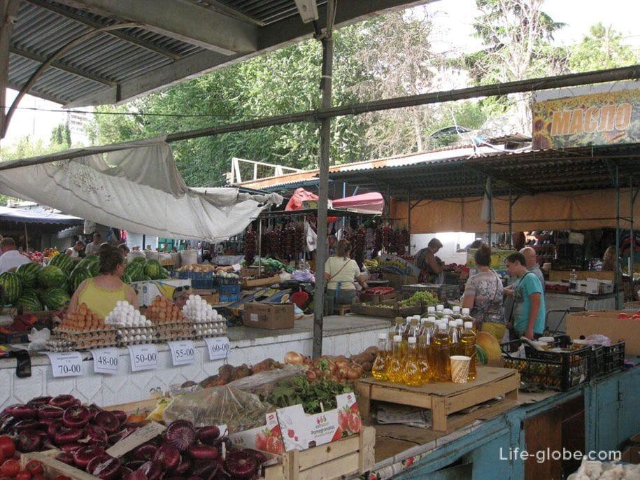 Цены в Крыму, рынки