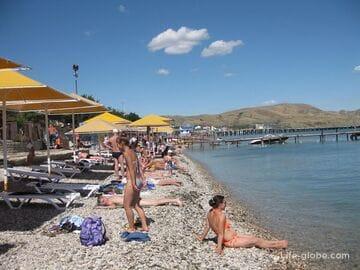 Коктебель, Крым: пляжи, море, инфраструктура