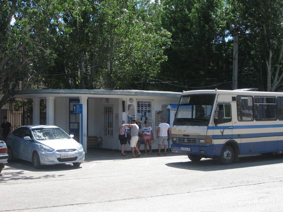 Автостанция Коктебеля