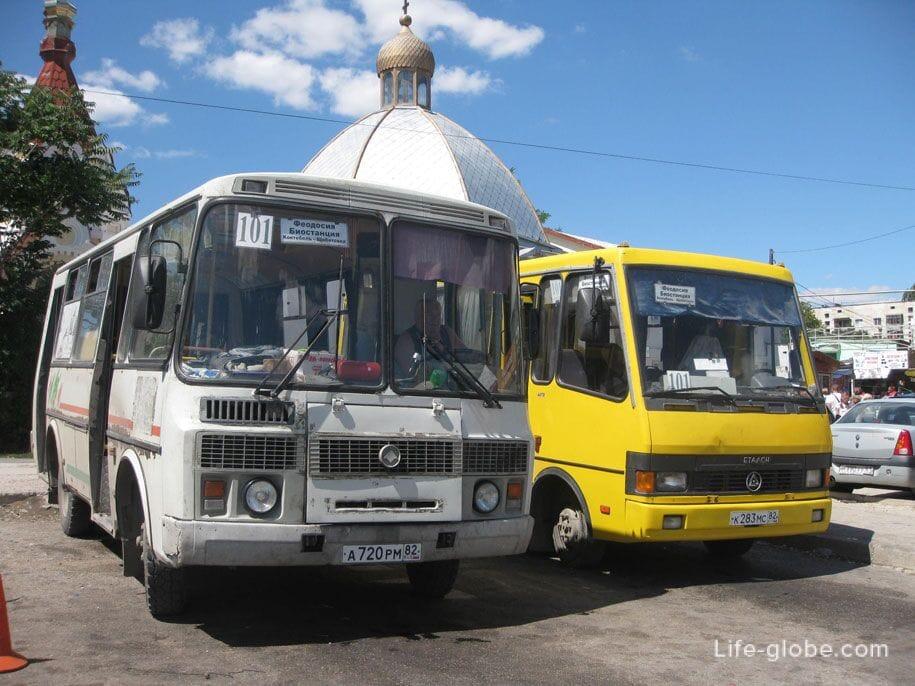 Автобусы в Крыму