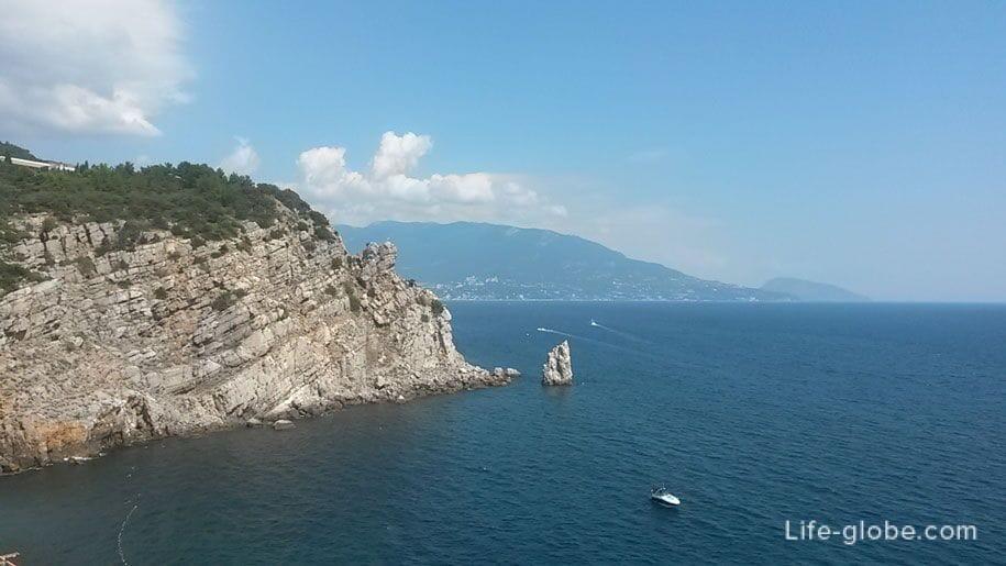 Горы и Черное море, Крым