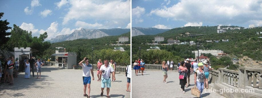 У замка Ласточкино гнездо, Крым