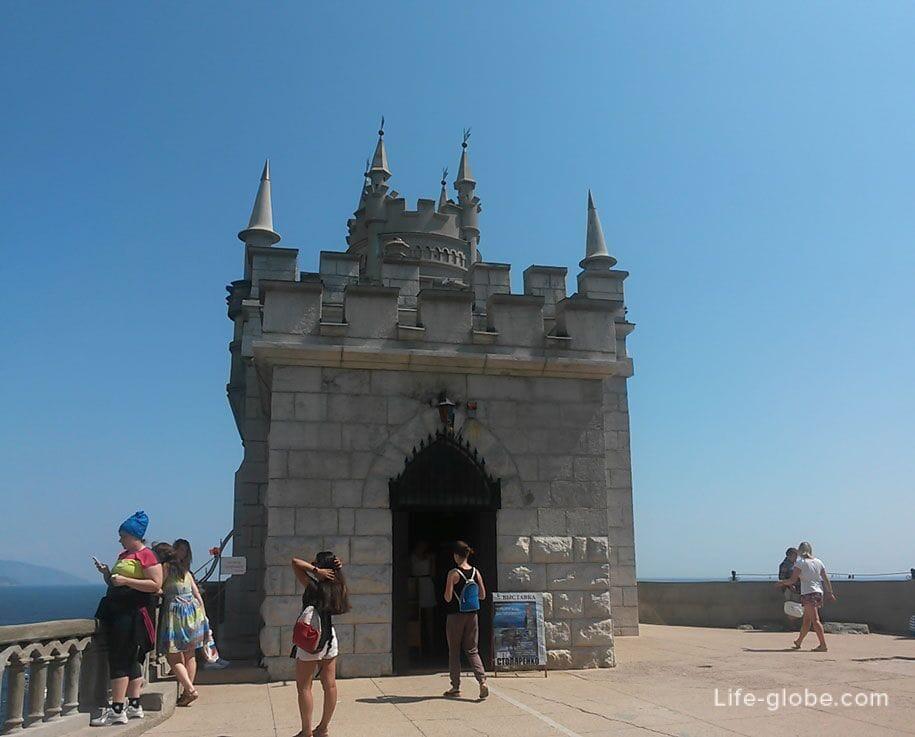 Дворец-замок Ласточкино гнездо, Крым