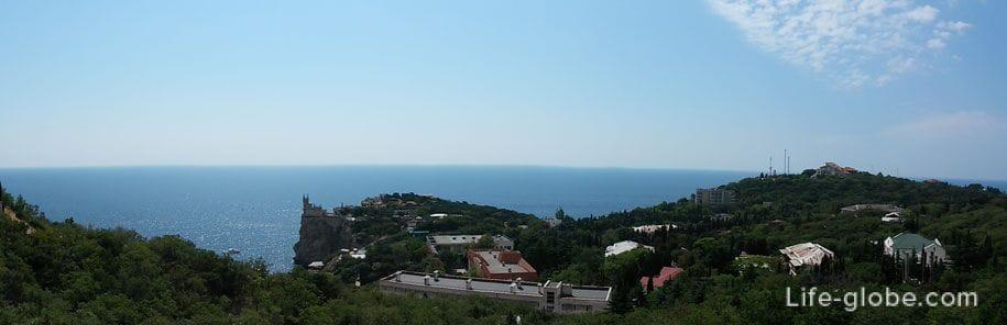 Панорама, Ласточкино гнездо, Крым