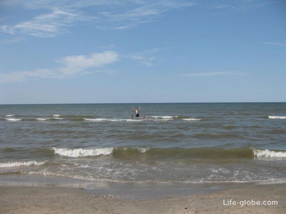 Азовское море, Ачуево