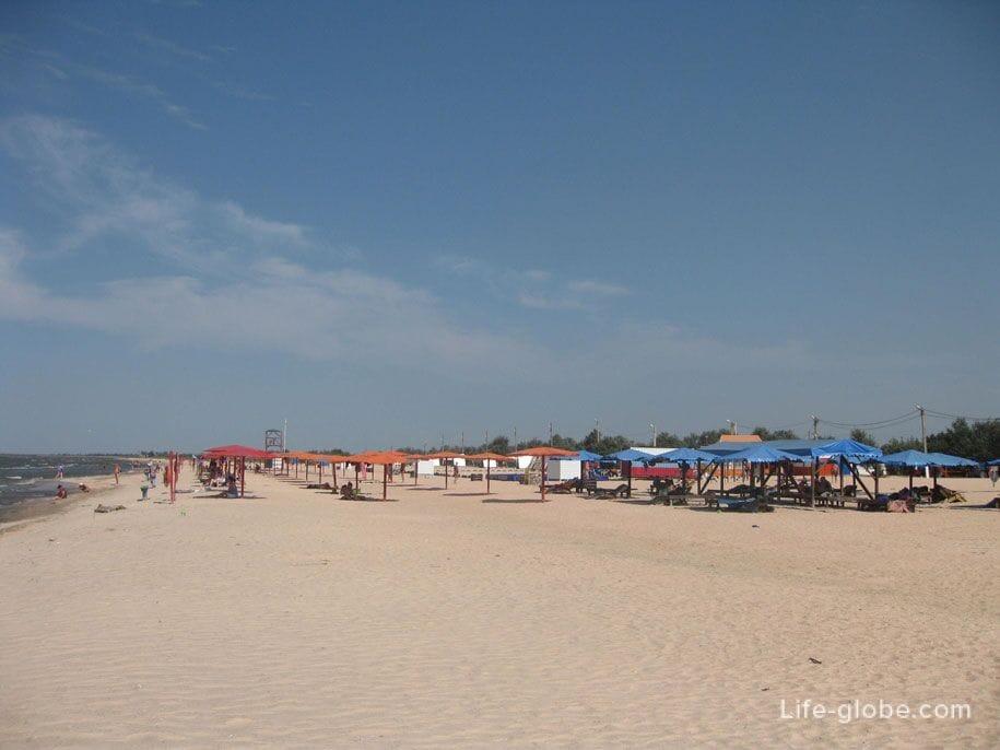 Пляж-кемпинг Оазис, Краснодарский край, Ачуево