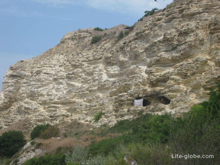 Палаточники на Фиоленте, Крым