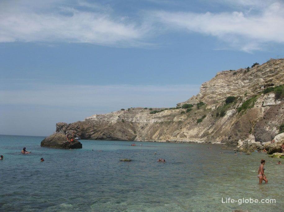 Черное море у мыса Фиолент, Севастополь
