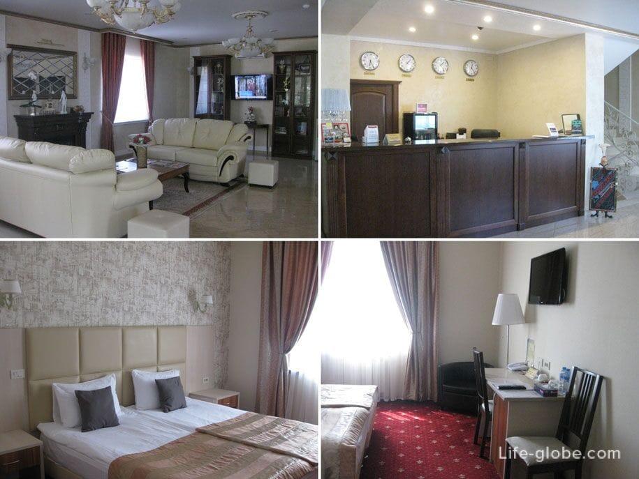 Отель Премьер в Смоленске, автостопом в Крым