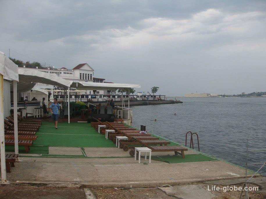 Пляжи Крыма - пляжи Севастополя