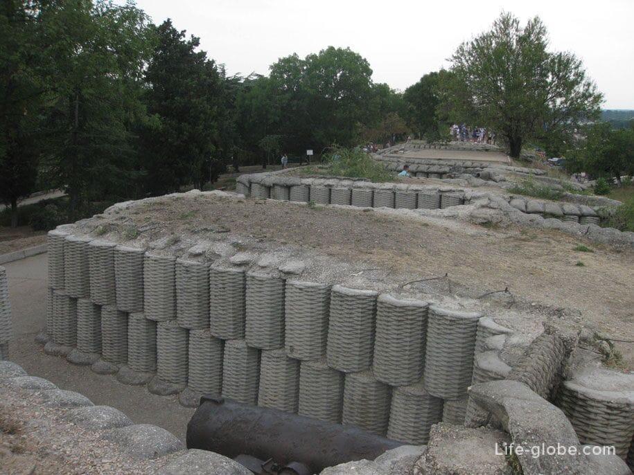 Исторический памятник 4 бастион, Севастополь, Крым