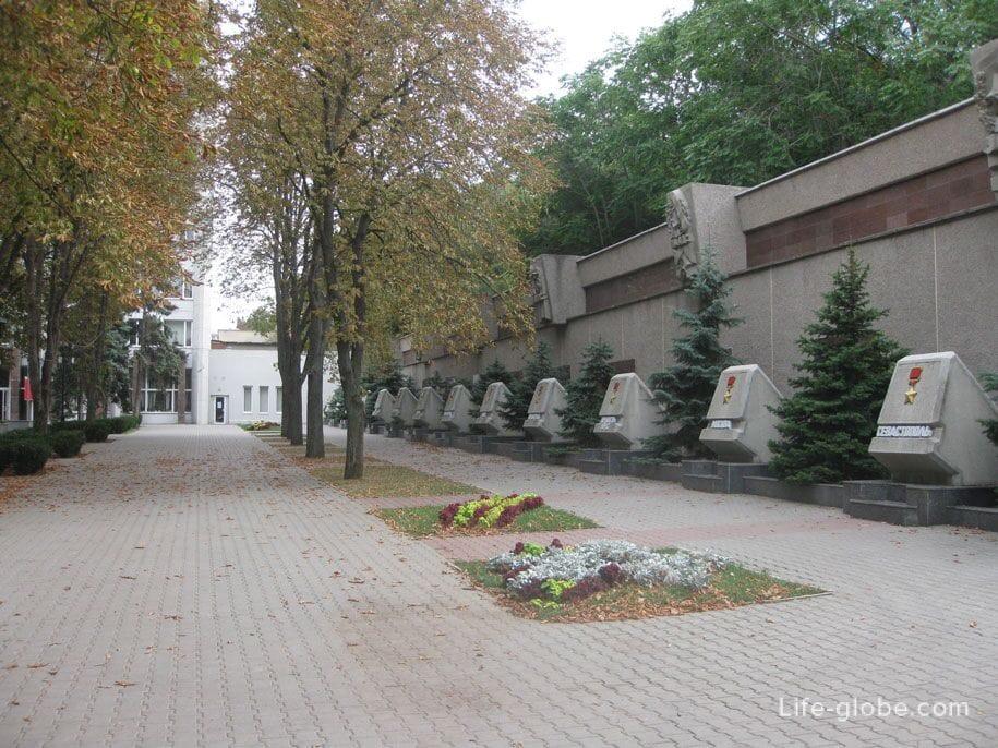 Аллея славы, Севастополь