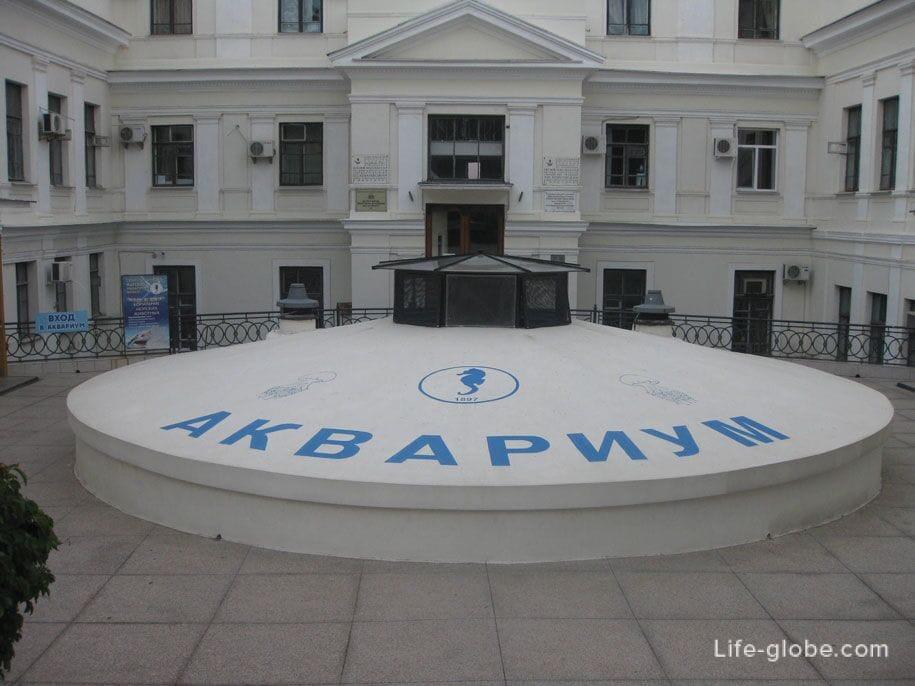 Аквариум, Приморский бульвар, Севастополь