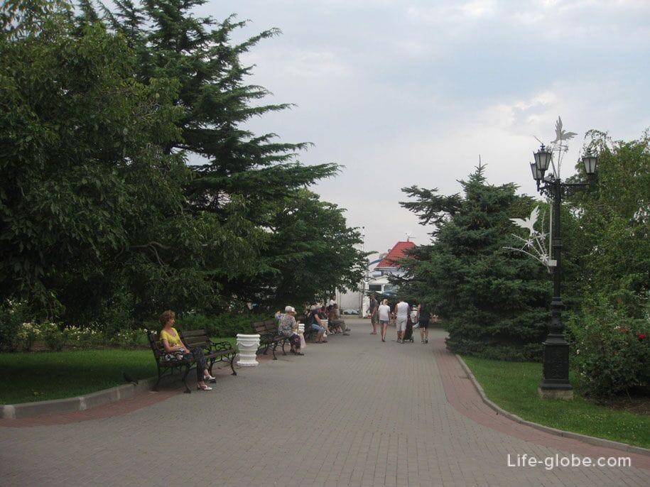 Приморский бульвар, Севастополь, Крым