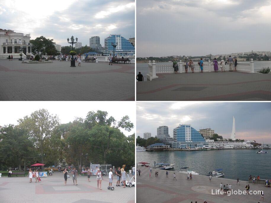 Парк - Приморский бульвар, Севастополь