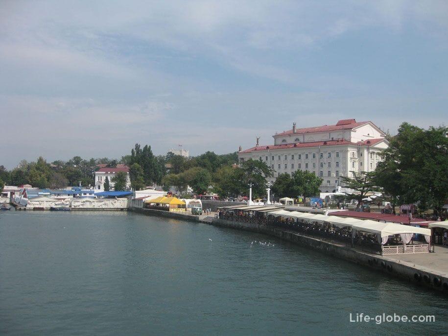 Набережная в Севастополе, Крым