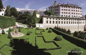 Замок Амбрас в Инсбруке (Schloss Ambras)