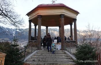 Bergisel hill in Innsbruck: springboard, museum, viewings and panoramic trail