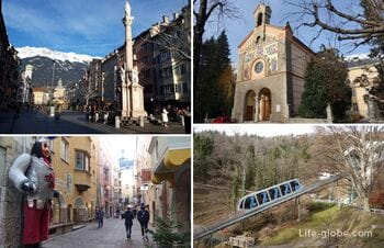 Sights of Innsbruck, Austria