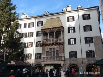 Golden Roof, Innsbruck (Goldenes Dachl) - the main symbol of the city