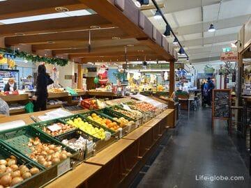 Рынок в Инсбруке (Markthalle Innsbruck)