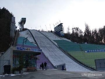 Лыжный трамплин Бергизель, Инсбрук (Bergiselschanze): смотровая площадка и панорамный ресторан