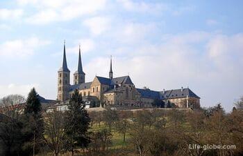 Аббатство святого Михаила в Бамберге (Kloster Michaelsberg): церковь, могила Отто, музей пива, панорамный сад и кафе
