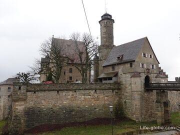 Крепость Альтенбург в Бамберге (Altenburg Bamberg)