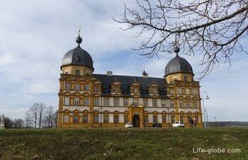 Дворец Зеехоф с парком (Schloss Seehof), Меммельсдорф, Германия