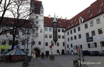 Munich Old Courtyard (Alter Hof) - Former Residence of the Rulers