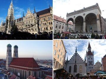 Достопримечательности Старого города Мюнхена (ТОП-15, + рождественские ярмарки)