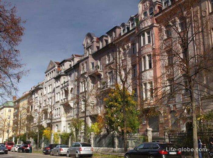 Центр мюнхена район апартаменты центральные сенявина 5
