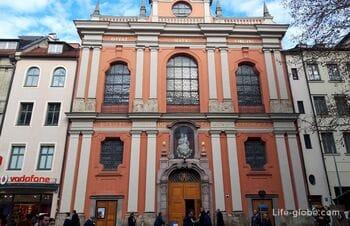 Bürgersaal Church in Munich - Citizen's Hall