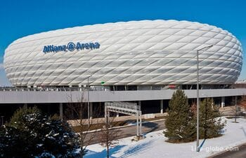 Альянц Арена в Мюнхене (Allianz Arena) - стадион, музей