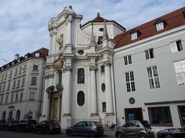 Церковь Святой Троицы в Мюнхене (Dreifaltigkeitskirche)