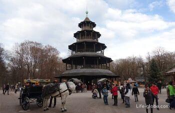 Китайская башня в Мюнхене (Chinesischer Turm)