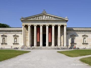 Глиптотека, Мюнхен (Glyptothek) - музей древней скульптуры