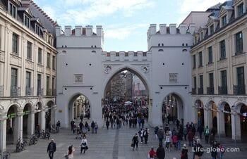 Karlstor in Munich (Charles Gate)