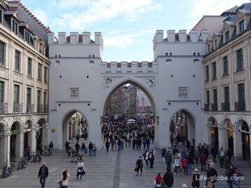 Карловы ворота в Мюнхене (Karlstor / Карлстор)