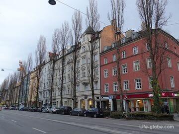 Район Людвигсфорштадт-Изарфорштадт, Мюнхен (Ludwigsvorstadt-Isarvorstadt)