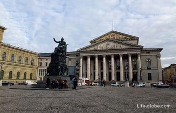 Max Joseph Square in Munich (Max-Joseph-Platz)