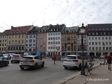 Улица Резиденции в Мюнхене (Residenzstraße / Резиденцияштрассе)