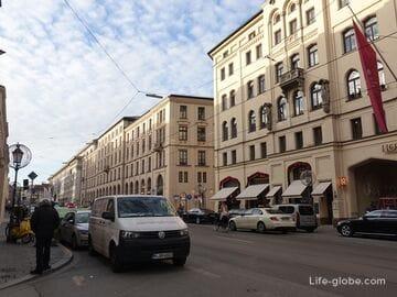 Улица Максимилианштрассе в Мюнхене (Maximilianstraße)