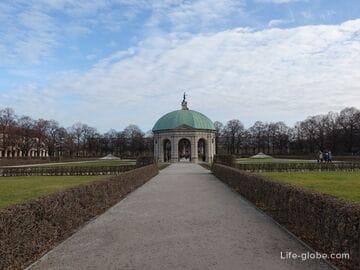 Парк Хофгартен в Мюнхене (Hofgarten München)