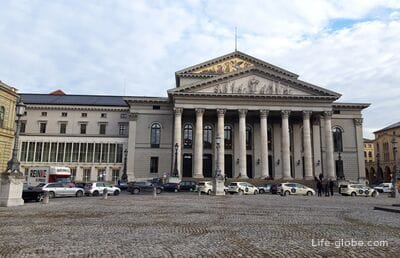 National Theater in Munich - Opera House (Nationaltheater München)