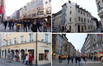 Munich streets (the most interesting)